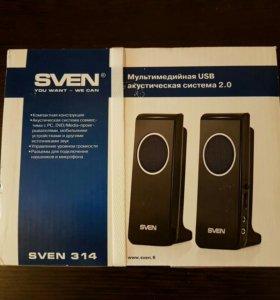 акустика Sven SV-314BK