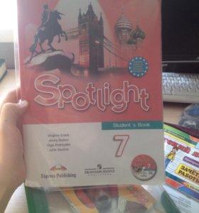 Учебник по английскому Spotlight 7
