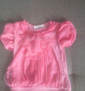 Блузка на 6-7 лет