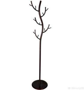Вешалка дерево, новая