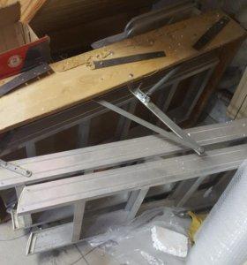 Лестница чердачная аллюминиевая