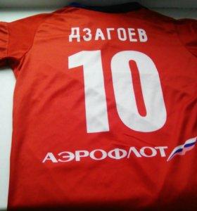 Форма футбольного клуба ЦСКА+гетры
