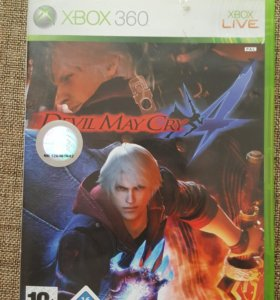 Xbox 360. devil may cry 4. Лицензия
