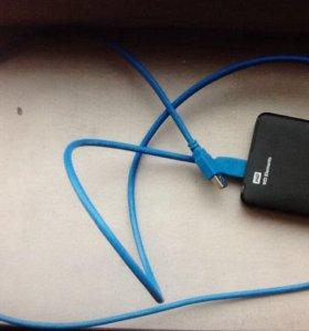 Внешний USB 3.0 диск Western Digital 2 Tb