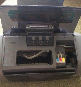 Epson stylus C67 фото принтер