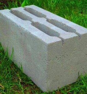Пескобетоные блоки
