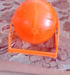 Клетка для хомяков и шарик