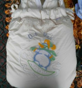 Зимний конверт-одеяло на овчине