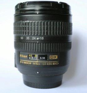 Nikon  DX 18-70 mm  3.5-4.5g E D