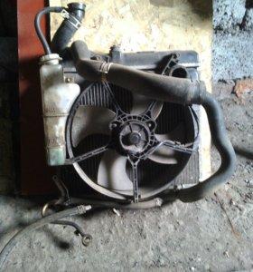 Радиатор системы охл.Хонда фит.
