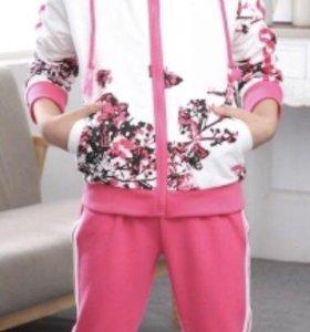Спортивный детский костюм для девочек