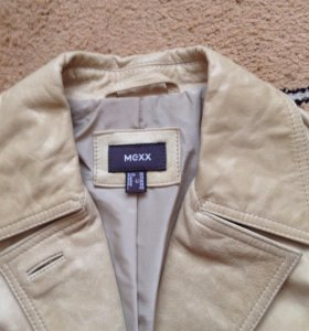Продам кожаный фирменный пиджак