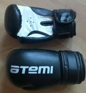 Перчатки боксерские Atemi 6 унций (подростковые)
