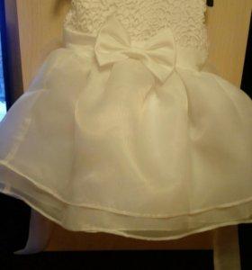 Пышное платье на малышку
