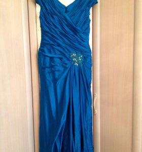 Платье в пол 48 р