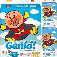 Японские подгузники и трусики Genki Nepia