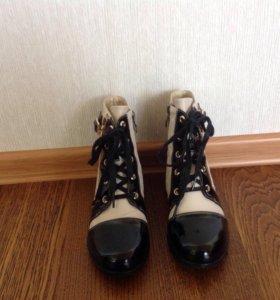 Весенне-осенние ботиночки.Новые.