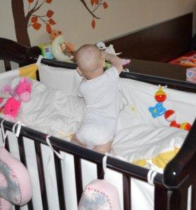 Детская кроватка Гандылян Джозеппе + матрас