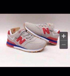 Новые детские кроссовки 34