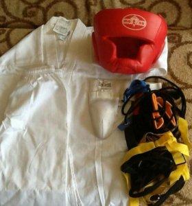 Кимоно, шлем, ракушка, эспандеры