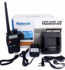 Retevis RT-5R рация аналог Baofeng UV-5R