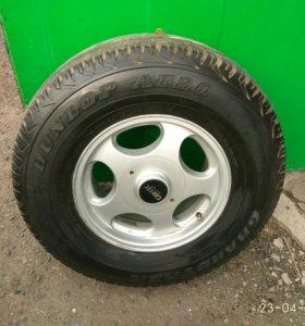 275/70/16 Комплект колес с литьем на 100 крузера