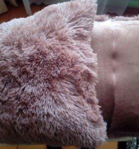 Подушки с длинным ворсом
