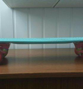 Продам скейтборд для города panny blue