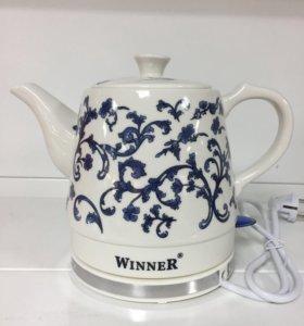 Новый керамический чайник