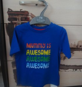 Новая футболка Mothercare