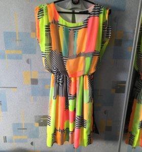 Платье летнее б/у