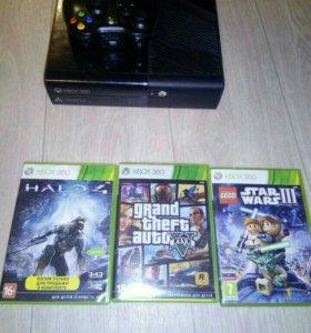 Меняю Xbox 360 250 ГБ