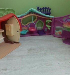 Распродажа кукольных домиков