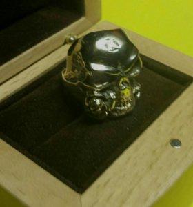 18.5 череп с розой