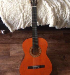 Гитара 6 струн с чехлом