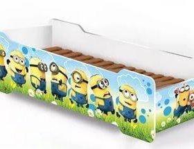 Детская кровать миньоны