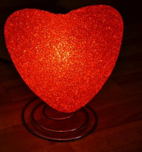 Светильник-сердце