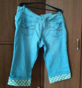Капри джинсовые НОВЫЕ