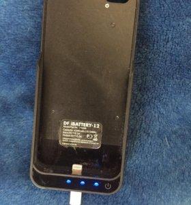 Чехол аккумулятор для iphone 5