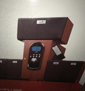 Компьютерная акустика Genius SW-HF 5.1 6000