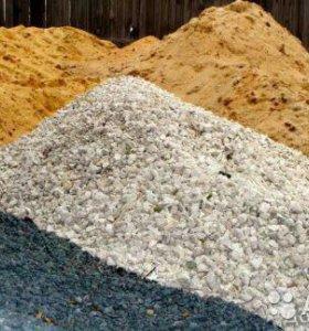 Щебень,навоз,песок