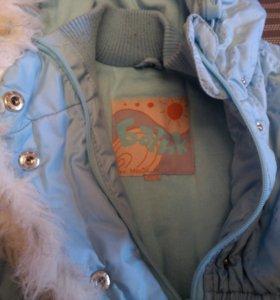 Пальто и штаны с грудкой