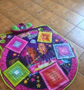 Развивающий умный танцевальный коврик Zippy Mat