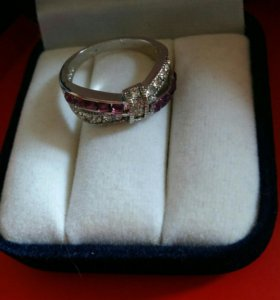 Кольцо серебро 925 пр