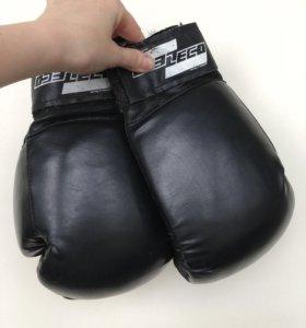 Перчатки боксерские Leco 9707, 10 Oz