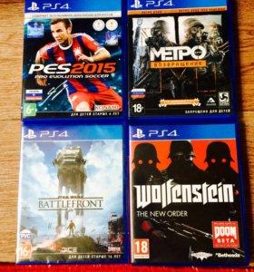 4 игры для PS4