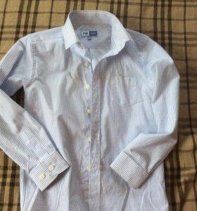 Рубашка школьная рост 134