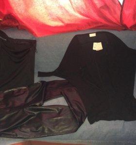 3штвместеZara,Benetton,La Redoute платье,брюки,48р