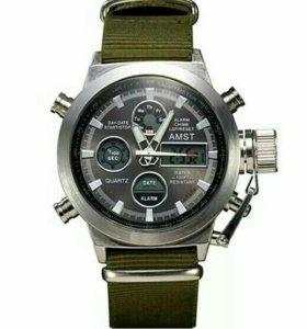 Часы армейские AMST оригинал (новые)