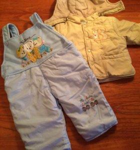 Куртка со штанами и комбинезоны
